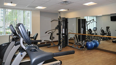 540 Town Center exercise room