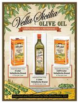 Vella Sicilia Olive Oil