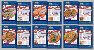 Gulf Pacific Seafood frozen fish bags