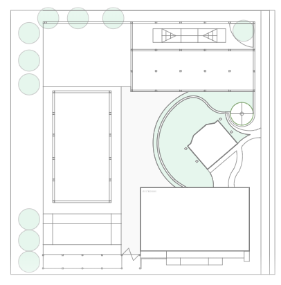 The Courtyard Event Space Layout