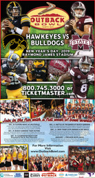 Outback Bowl Full Page Newspaper