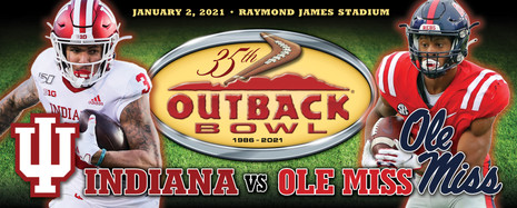 Outback Bowl Game Day Banner