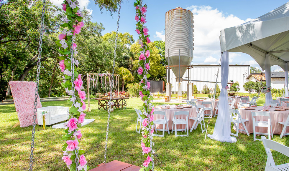 Event Example: Bridal Party at TABELLAS