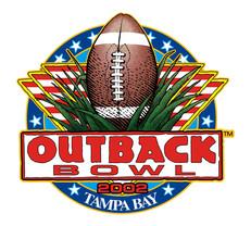 Outback Bowl, 2002 logo