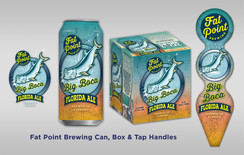 Fat Point Brewing Big Boca designs