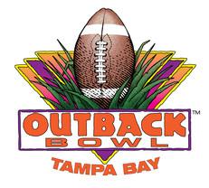 Outback Bowl, original logo