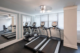 Cathedral Terrace exercise room