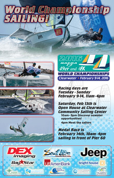 Sailing Nationals Poster