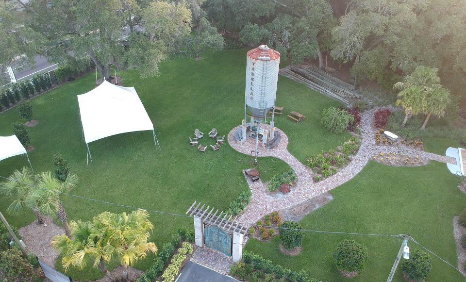 Daytime Photo of The Silo Garden