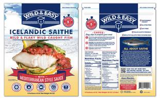 Wild & Easy Icelandic Saithe bag