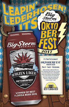 Big Storm Brewing Oktoberfest Poster