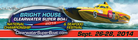 Clearwater Super Boat 2014
