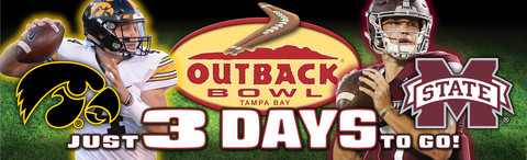 Outback Bowl Countdown Board