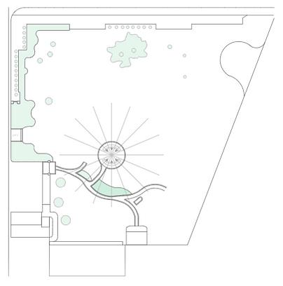 Silo Garden Layout