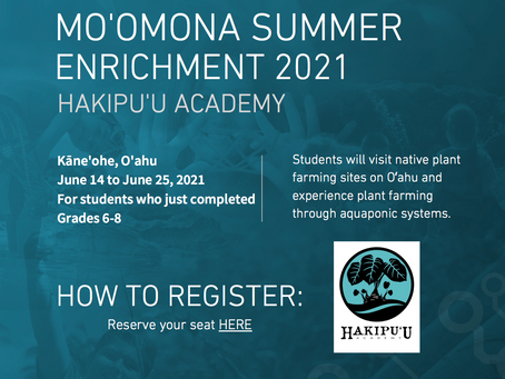 2021 Summer Enrichment Program