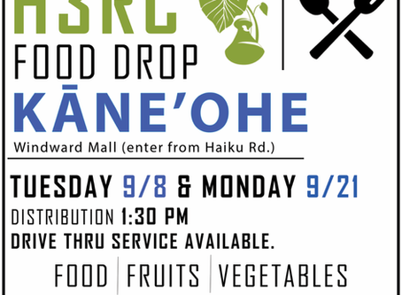 September Food Drives
