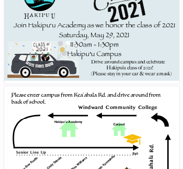 Hoʻomaikaʻi Class of 2021!