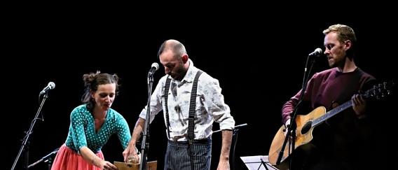Křest cd Slon a mravenec, Brno, Klub Leitnerova, 22.9.2019