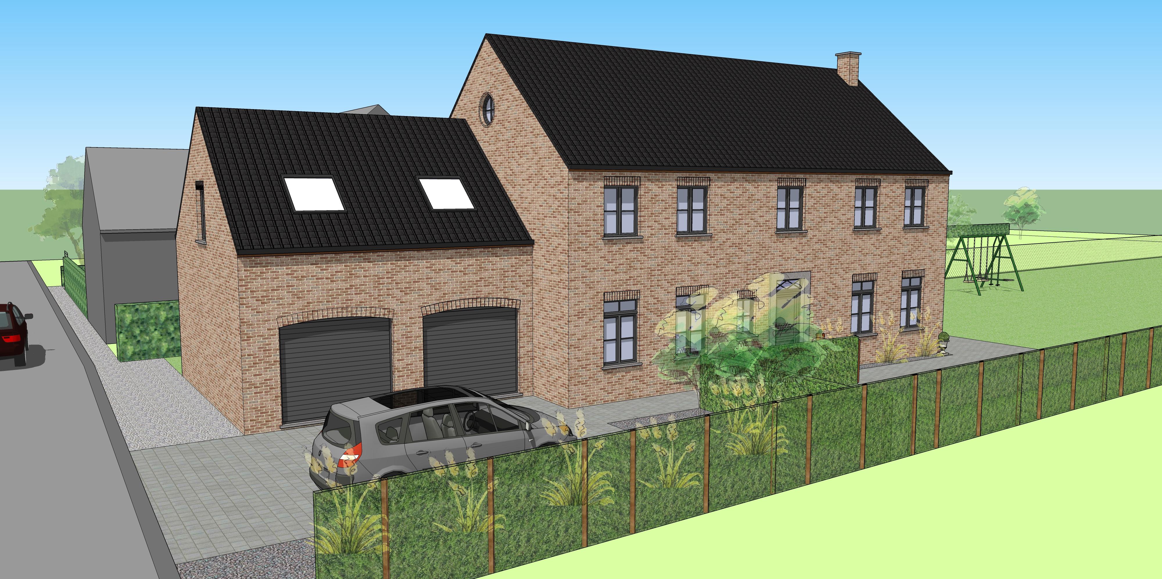 Construction d'une habitation