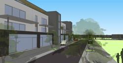 Immeuble - logements & commerce