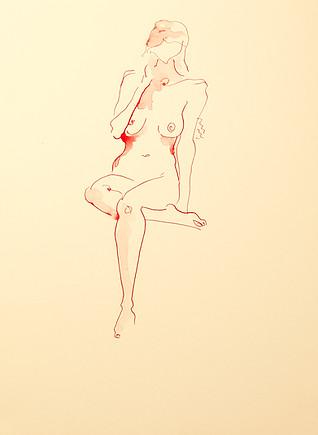 Seated nude 2.