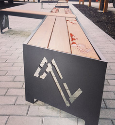 Mackenzie Village Custom Bench