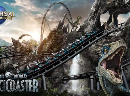 Jurassic World VelociCoaster Coming Summer 2021