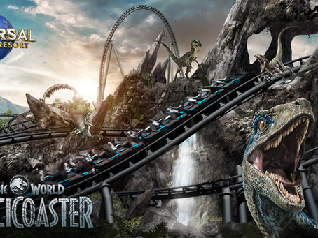 Jurassic World VelociCoaster Coming Summer 2021
