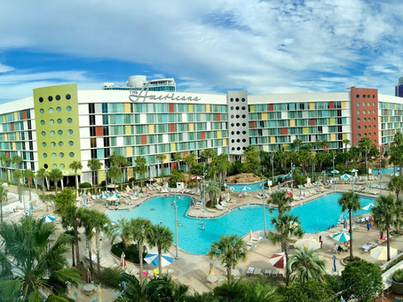 Get a $50 Dining Credit at Cabana Bay Beach Resort