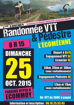 Affiche Rando VTT