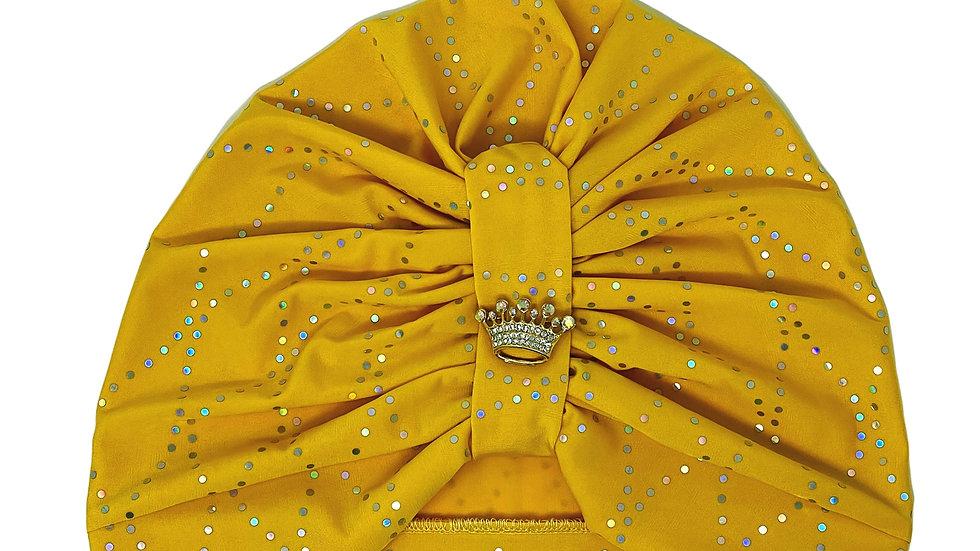 Canary Yellow Turban