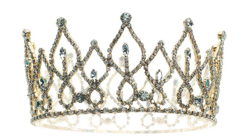 Elegant Gold Crown