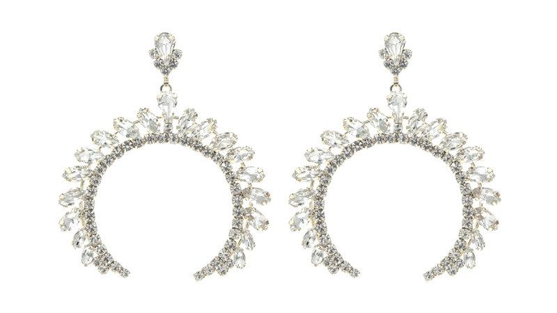 C-Shape Elegant Earrings