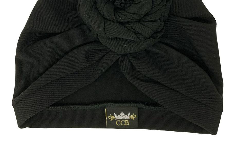 Bantu Knotted Black Turban