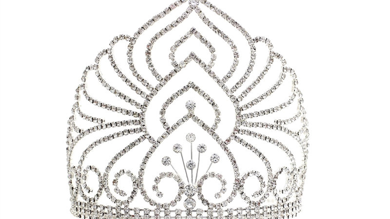 Rhinestone Elegant Bloom Tiara