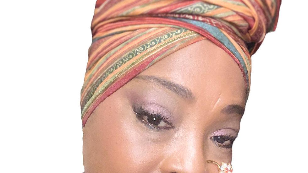 Lady Holiday Head Wrap