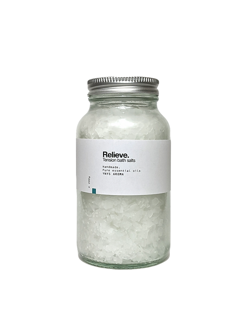 Relieve // Tension bath salts