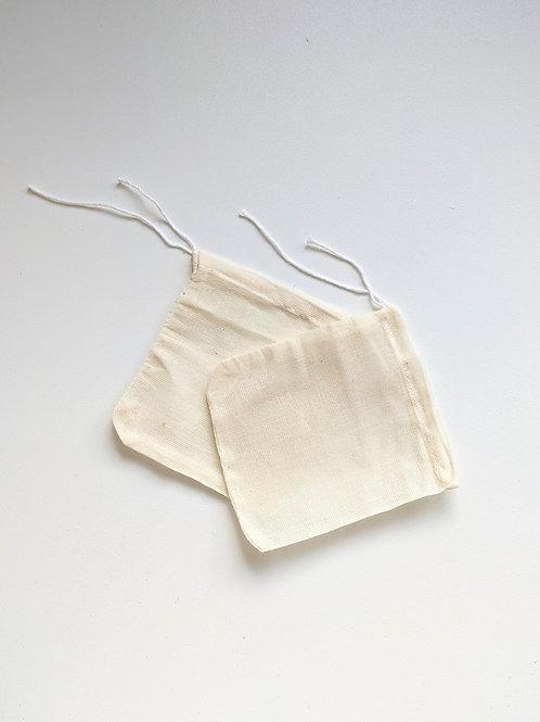 Muslin bath bags