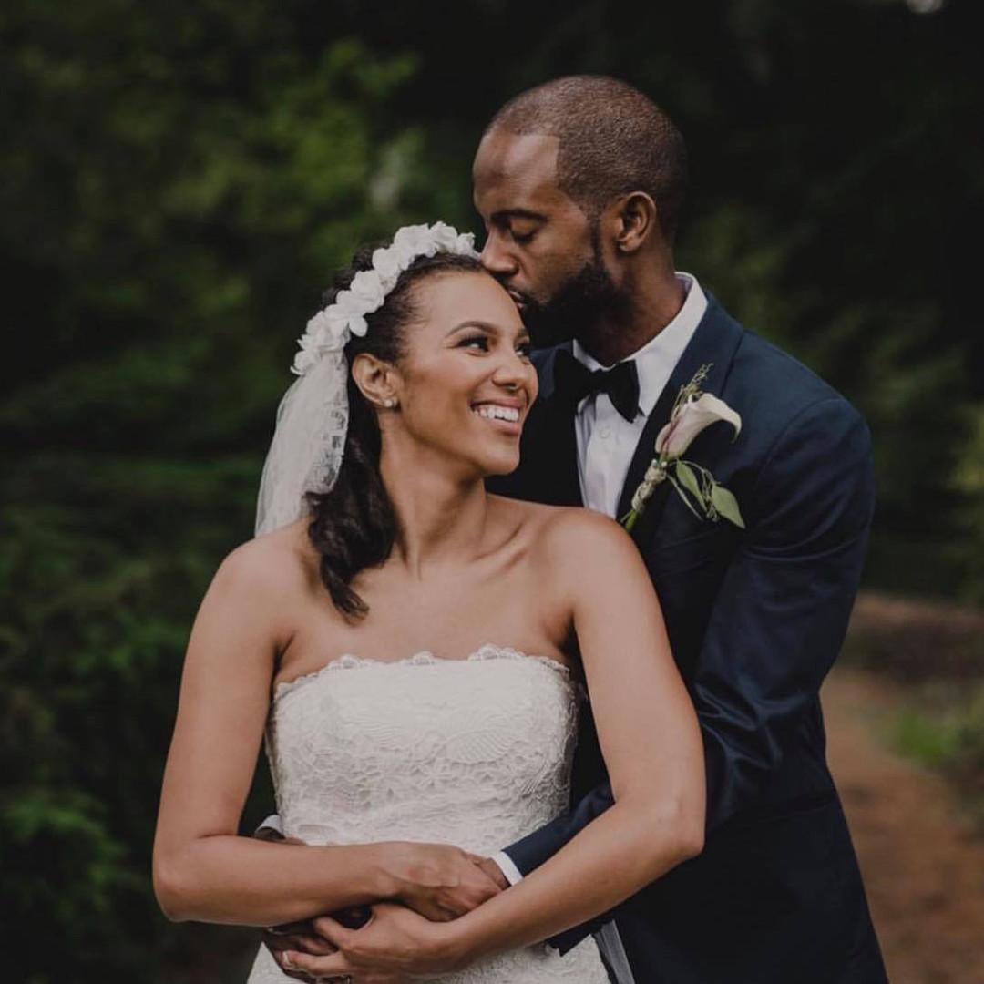 African-American Bride Makeup