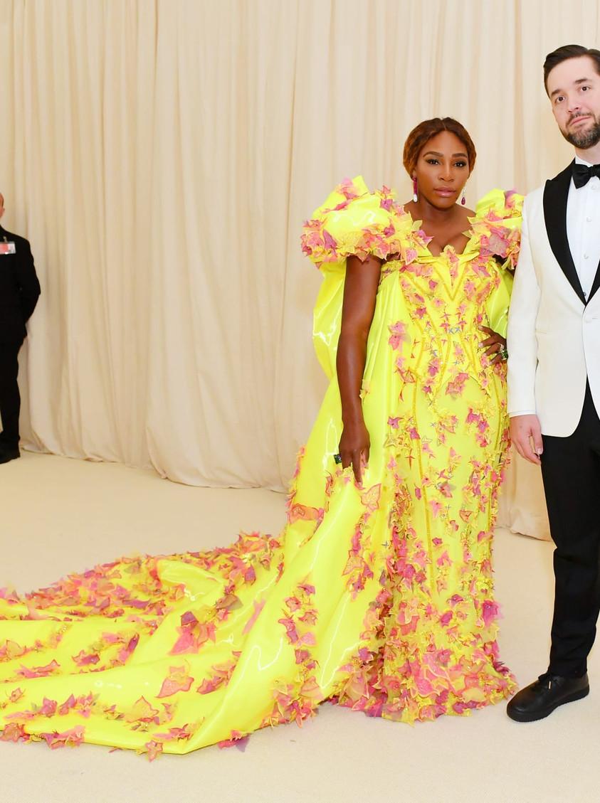 Serena Williams en VERSACE