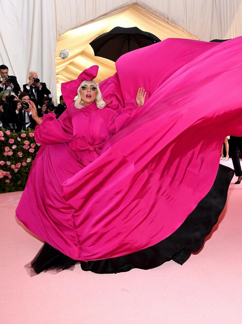 Lady Gaga en BRANDON MAXWELL