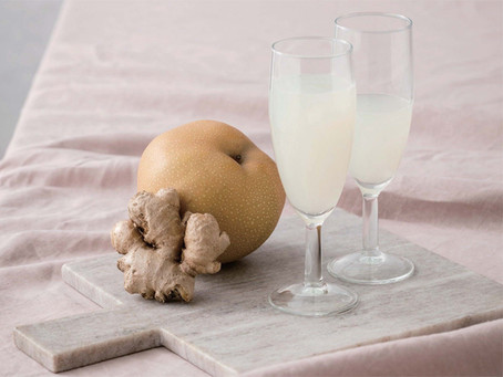 水梨生薑汁