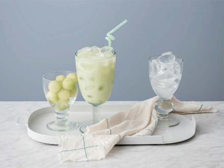 哈密瓜椰子汁
