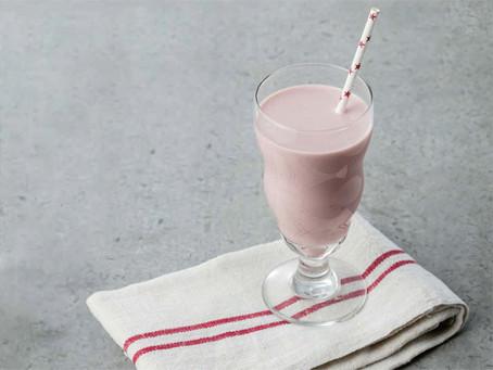草莓香蕉汁
