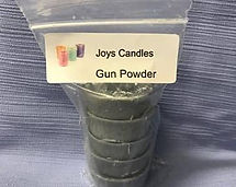 Image of Gun powder 100% soy wax candle melts