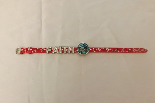 Faith Bracelet 18 mm snap
