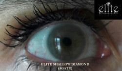 Shallow Diamond Agate