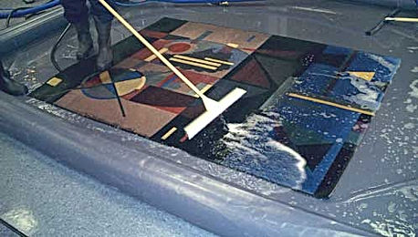 Submersed Rug Cleaning