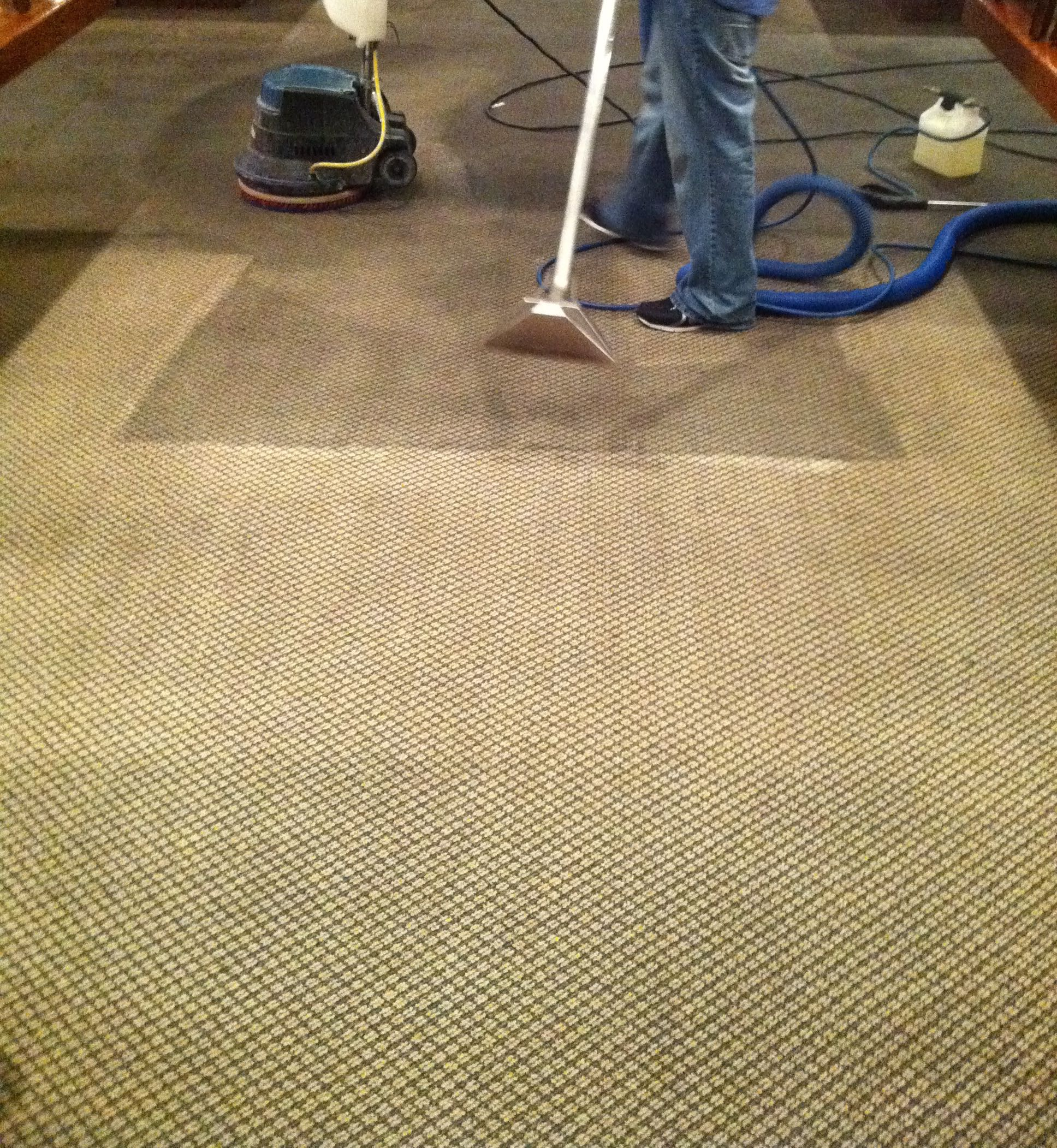 commercial carpet cleaning before after dr