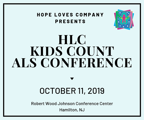 HLC Kids Count ALS Conference save the d